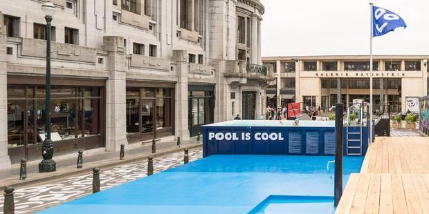 Une piscine publique en plein centre-ville de Bruxelles - La DH