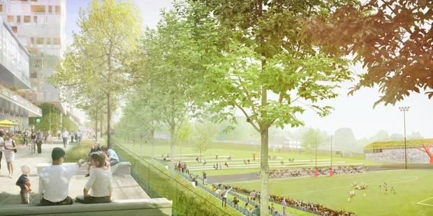 Projet Neo : Le nouveau parc des sports entre en piste - La DH