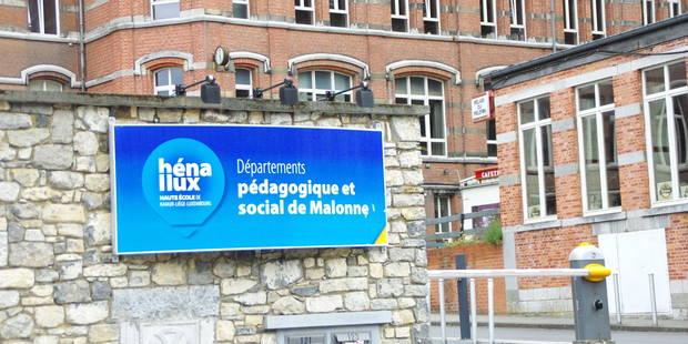 Henallux Malonne : taux d'échec record, les étudiants balancent - La DH