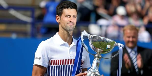Eastbourne: Djokovic vainqueur avant Wimbledon - La DH