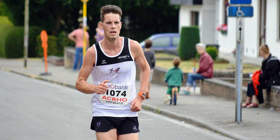 ACRHO: Le jogging du Floc sourit à Joachim Murez