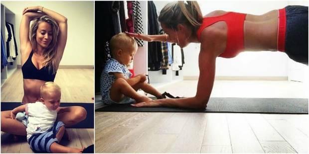 L'animatrice Emilie Dupuis livre ses conseils sport pour garder la forme avec bébé - La DH
