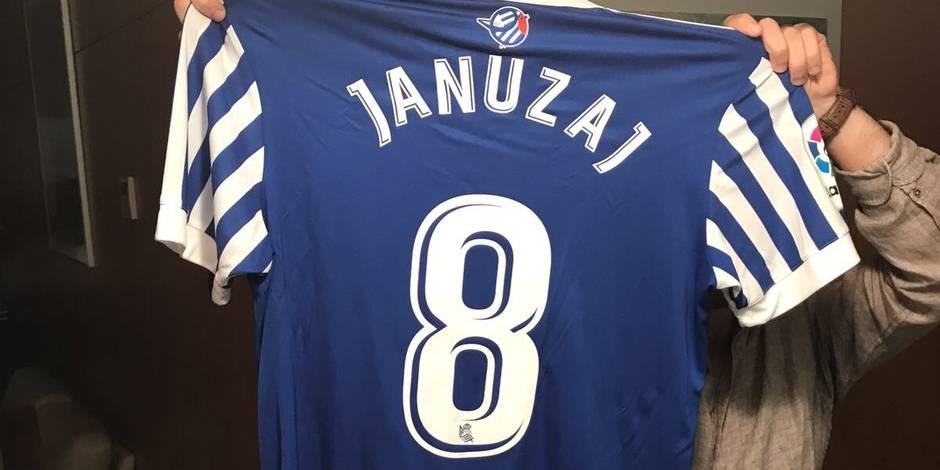 Maillot Domicile Real Sociedad Januzaj