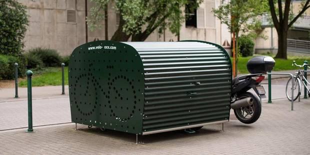 Bruxelles: Un site web pour trouver un box à vélos près de chez vous - La DH