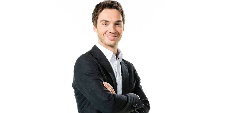 """Laurent Mathieu: """"Le Delahousse de la RTBF ? Je trouve ça flatteur !"""" - La DH"""