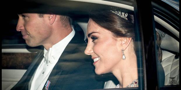 Kate Middleton, élégante, rappelle Lady Di - La DH