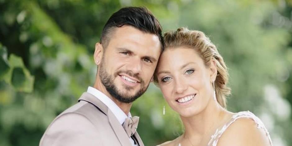 Yanina et Jérôme ont célébré leur mariage ce samedi