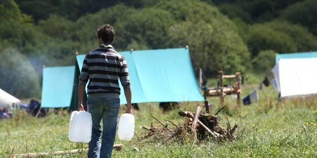 Un camp scout évacué près de Durbuy - La DH