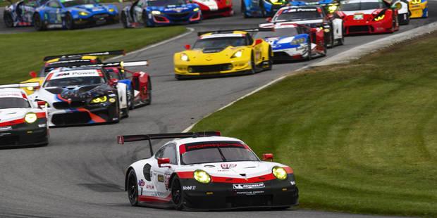 IMSA: Laurens Vanthoor assure le doublé pour Porsche - La DH