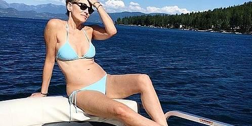 Sharon Stone, icône glamour