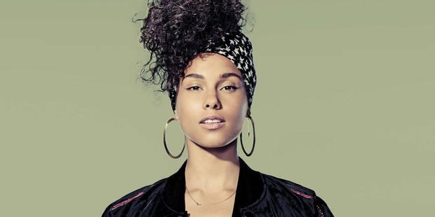 Alicia Keys ne ressemble plus à ça - La DH