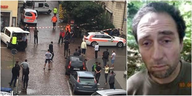 Attaque à la tronçonneuse en Suisse: La police diffuse des photos du suspect qui est en fuite - La DH