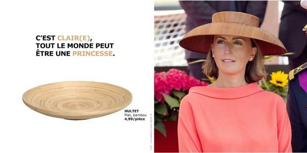 Ikea Rebondit Sur Le Chapeau De La Princesse Claire Avec