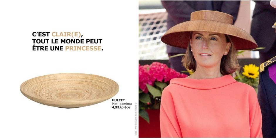Ikea rebondit sur le chapeau de la princesse Claire avec beaucoup d'à-propos