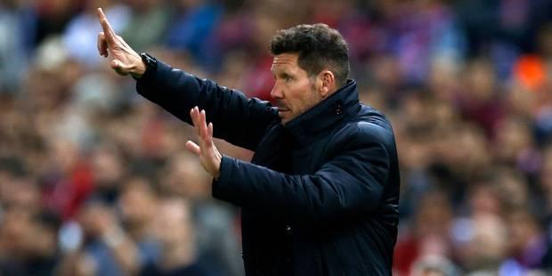 Journal du mercato (25/07): Diego Simeone prolonge jusqu'en 2019 à l'Atlético Madrid - La DH