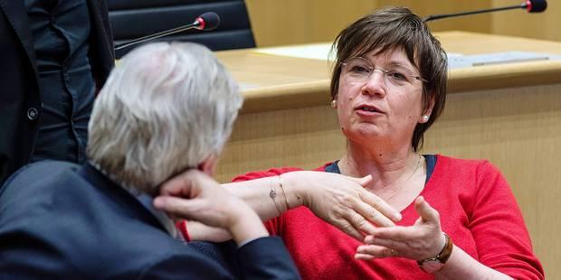 """Alda Greoli : """"ministre, pas candidate bourgmestre"""" - La DH"""