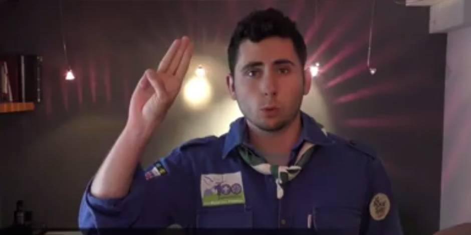 """""""C'est ça le scoutisme!"""" (VIDEO)"""