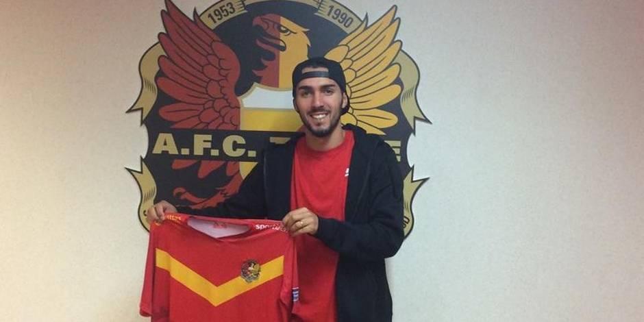Un défenseur de Benfica signe à Tubize