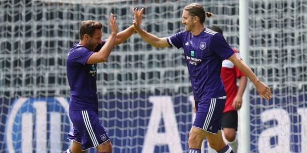Anderlecht bat le RWDM avec un triplé de Frutos dans le Derby des Légendes (PHOTOS ET VIDEO) - La DH