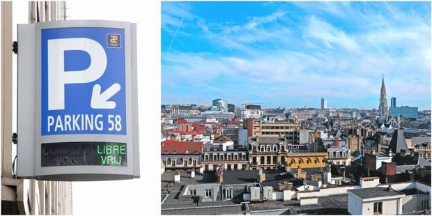 Le parking 58 à Bruxelles fermera ses portes ce lundi matin - La DH
