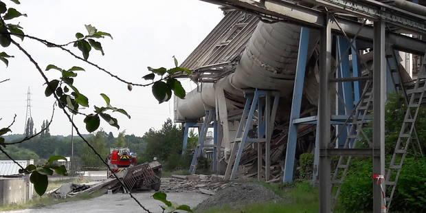 Obourg: les activités peu à peu relancées sur le site de la cimenterie - La DH