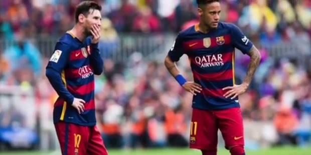 Messi fait ses adieux à Neymar - La DH