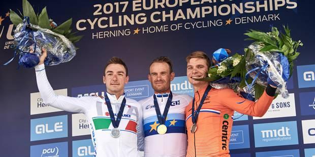 Euro de cyclisme: le Norvégien Alexander Kristoff s'impose de justesse devant l'Italien Elia Viviani - La DH
