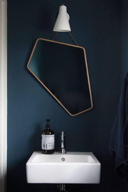 Un miroir dans une forme originale pour changer des ronds ou des rectangles.
