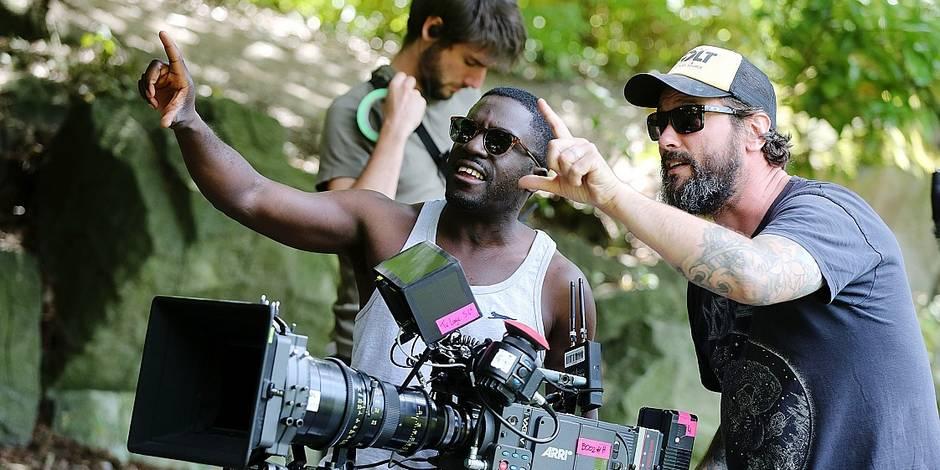 """Sur le tournage du film """"La Fine Equipe"""" avec Kody: """"Je fais mes cascades moi-même"""""""