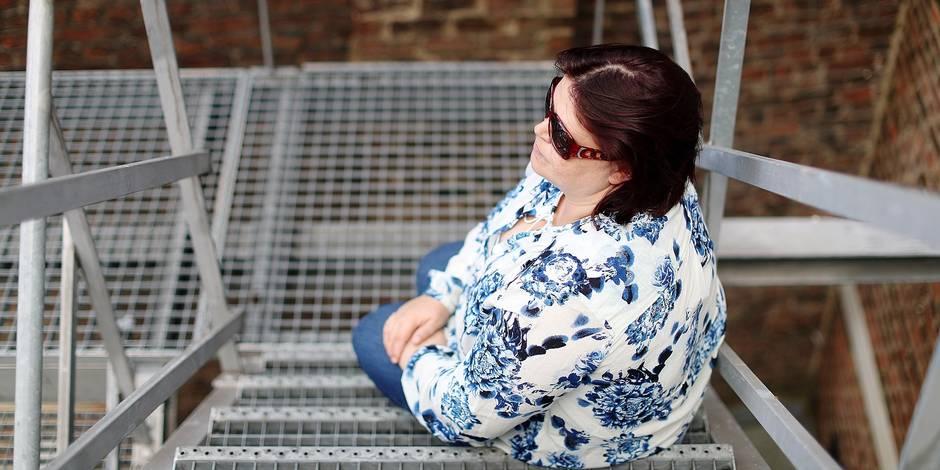 Photos Bernard Demoulin: Femme battue. Centre de prevention des violences conjugales