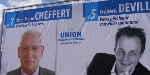 Ciney : Frédéric Deville n'a plus l'autorisation de communiquer - La DH