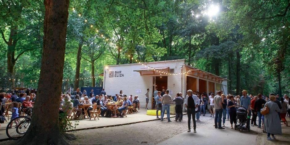 11 endroits où boire un verre et manger dans un parc à Bruxelles