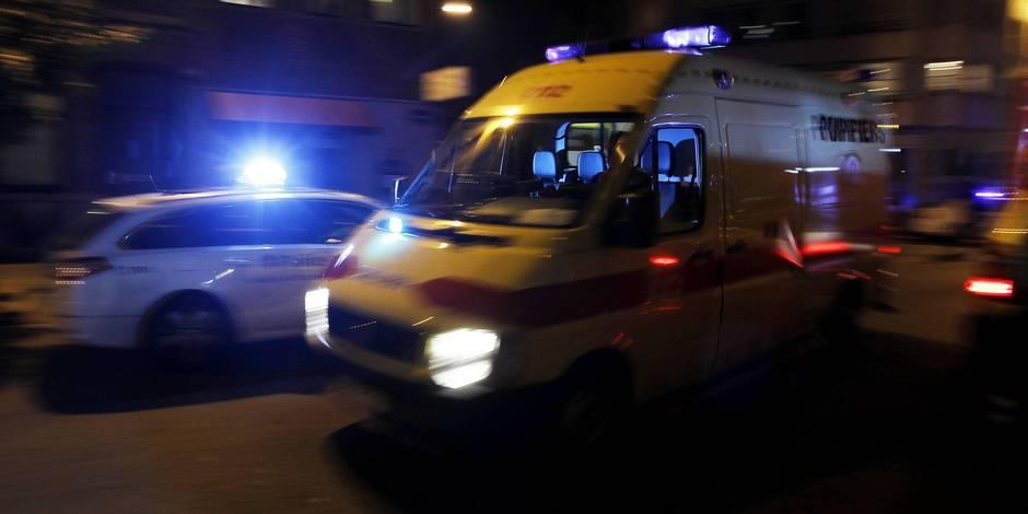 Marchienne-au-Pont: un blessé lors d'un choc frontal