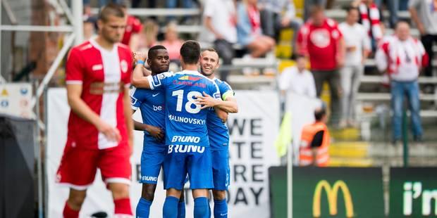 Genk s'impose à l'Antwerp dans un festival de buts (3-5) - La DH