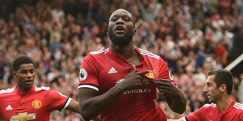 Romelu Lukaku claque un doublé pour ses débuts avec Manchester United en championnat (VIDEOS)