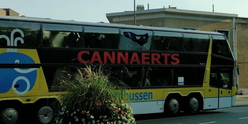 L'Antwerp prend ses distances par rapport à l'attaque des bus du Beerschot-Wilrijk