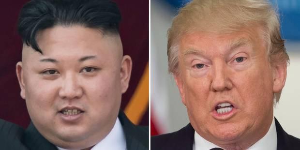 Escalade entre la Corée du Nord et les Etats-Unis: Kim Jong-Un met sur pause le projet de tirs vers Guam - La DH
