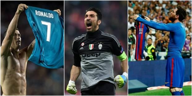 Buffon, Messi et Ronaldo nommés pour remporter le titre de Joueur de l'année de l'UEFA - La DH