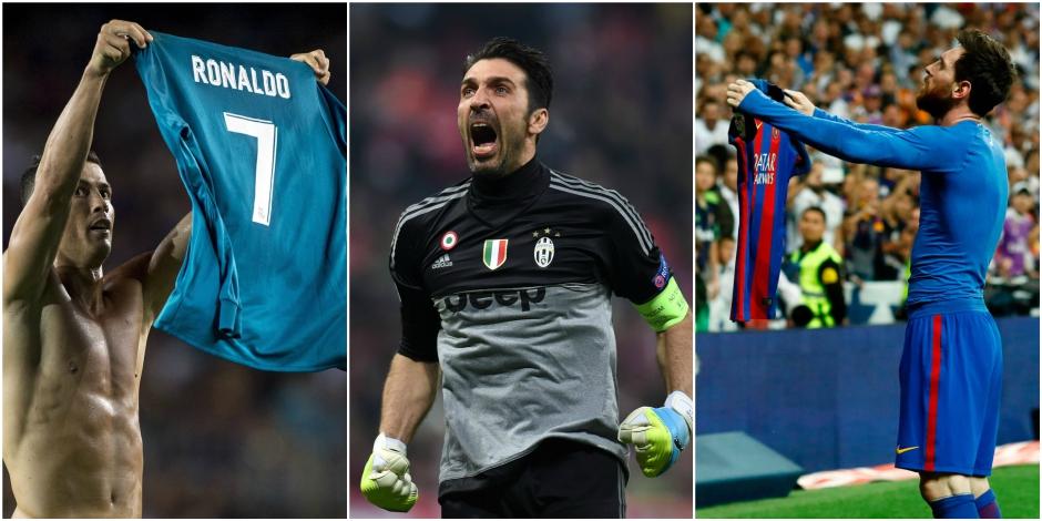 Buffon, Messi et Ronaldo nommés pour remporter le titre de Joueur de l'année de l'UEFA