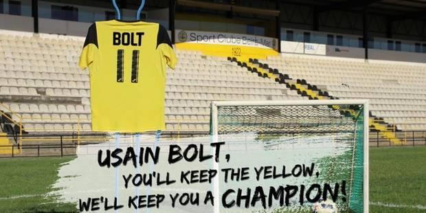 Un modeste club portugais fait les yeux doux à Usain Bolt - La DH