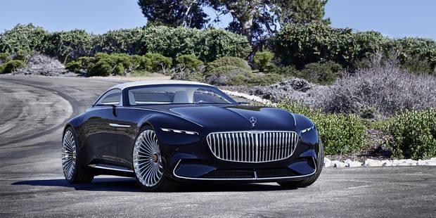 La Vision Mercedes-Maybach 6 Cabriolet, un concept sympa... - La DH