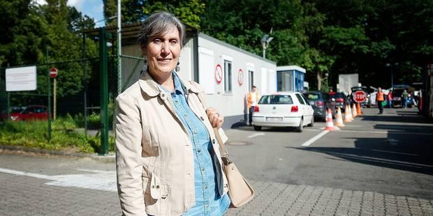Auderghem : Privée d'accès à la déchetterie car elle est? piétonne - La DH