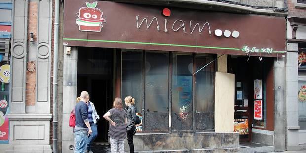 Dinant : incendie volontaire au snack Miam - La DH