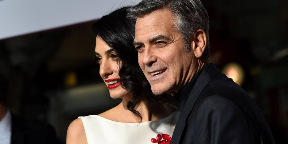 Les Clooney font un don d'un million de dollars contre le racisme