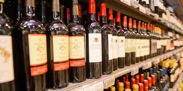 Le vin rouge est dans le rouge - La DH
