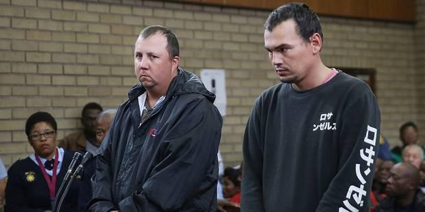 Deux Sud-Africains coupables d'avoir tenté d'enfermer vivant un homme dans un cercueil - La DH