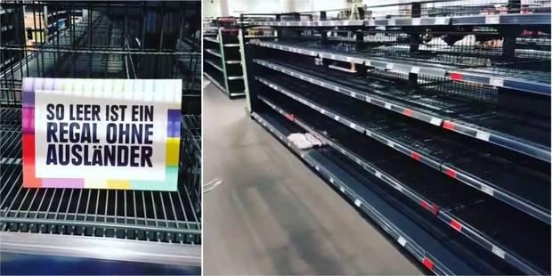 Allemagne: pour lutter contre la xénophobie, un supermarché retire ses produits étrangers - La DH