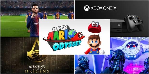 "La DH à la gamescom: Mario, Electronic Arts, Xbox... découvrez les vainqueurs des ""gamescom awards"" - La DH"