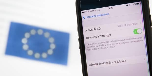 Premier été sans frais de roaming: les Belges se sont lâchés sur le data - La DH