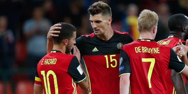 Les Diables rouges, emmenés par Meunier et Lukaku, impressionnants face à Gibraltar (9-0) - La DH